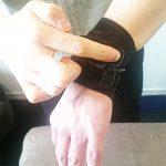 セラピストの悩み(手首の腱鞘炎)の治し方 サポーター(ザムストリストバンド)のオススメの使い方4