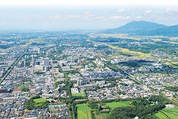 茨城県つくば市の、アロマセラピスト求人、採用情報、無資格、未経験からセラピストへ!.つくばの街並み