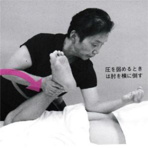 臀部の施術6