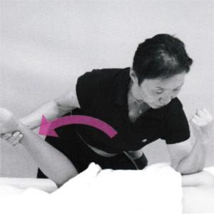 臀部の施術5